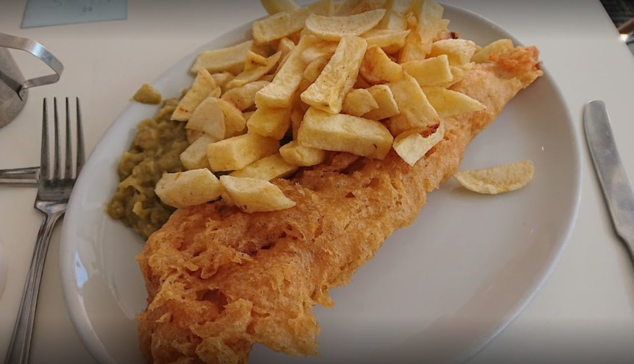 Things to do in Manchester Grandads Fish and Chip Restaurant Stockport 1